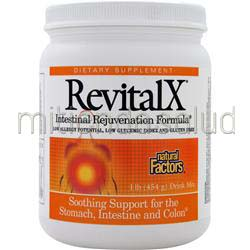 RevitalX Intestinal Rejuvenation Formula 1 lbs NATURAL FACTORS
