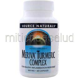 Meriva Turmeric Complex 60 caps SOURCE NATURALS