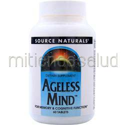 Ageless Mind 60 tabs SOURCE NATURALS
