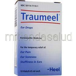Traumeel Ear Drops 10 vials HEEL
