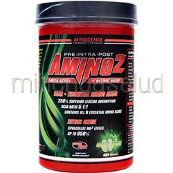 Amino2 Green Apple 420 grams MYOGENIX