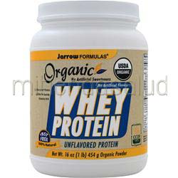 Whey Protein - Organic Unflavored 16 oz JARROW