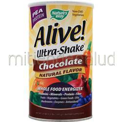 Alive Multivitamin - Ultra Shake Pea Protein Chocolate 1 3 lbs NATURE'S WAY