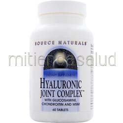 Hyaluronic Joint Complex 60 tabs SOURCE NATURALS