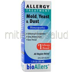 Allergy Treatment - Mold, Yeast & Dust 1 fl oz BIOALLERS