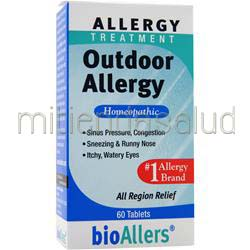 Allergy Treatment - Outdoor Allergy 60 tabs BIOALLERS