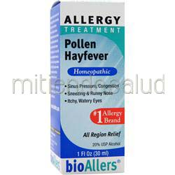 Allergy Treatment - Pollen Hayfever 1 fl oz BIOALLERS