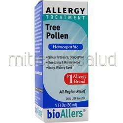 Allergy Treatment - Tree Pollen 1 fl oz BIOALLERS