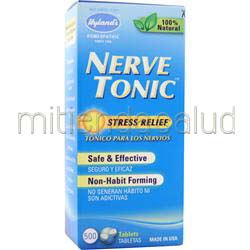 Nerve Tonic 500 tabs HYLANDS HOMEOPATHIC