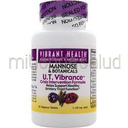 U T  Vibrance - Mannose & Botanicals 50 tabs VIBRANT HEALTH