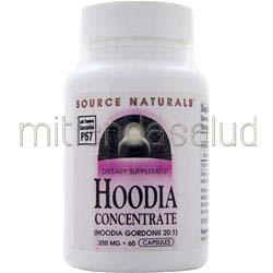 Hoodia Concentrate 250mg 60 caps SOURCE NATURALS