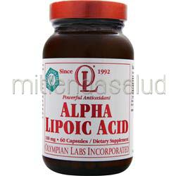 Alpha Lipoic Acid 100mg 60 caps OLYMPIAN LABS