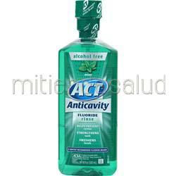 ACT Restoring Anticavity Flouride Rinse Mint 18 oz CHATTEM