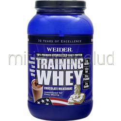 Training Whey - 100% Premium Hydrolyzed Whey Protein Chocolate 2 lbs WEIDER