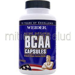 BCAA Capsules 120 caps WEIDER