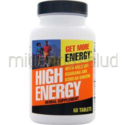 High Energy 60 tabs WEIDER