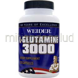 L-Glutamine 3000 120 caps WEIDER