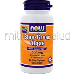 Blue-Green Algae 500mg 90 caps NOW