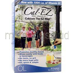 Cal-EZ with Vitamin D 30 pckts OLYMPIAN LABS