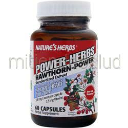 Hawthorn - Power 60 caps NATURE'S HERBS