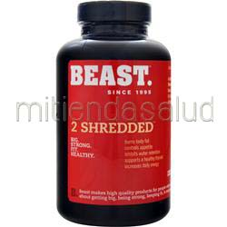 2 Shredded 120 caps BEAST SPORTS NUTRITION
