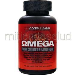 Citrus Omega 120 sgels AXIS LABS
