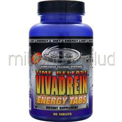 Vivadrein Energy Tabs - Time Release 90 tabs STS