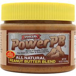 PowerPB - All Natural Peanut Butter Blend 1 lbs SNACLite