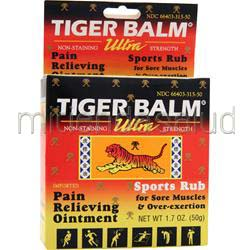 Tiger Balm Ultra Sports Rub 1 7 oz PRINCE OF PEACE