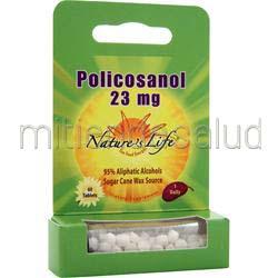 Policosanol 23mg 60 tabs NATURE'S LIFE