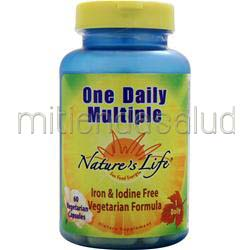 One Daily Multiple 60 caps NATURE'S LIFE