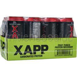 Xapp Carbonated Protein RTD - Caffeine Free 12 bttls DESIGNER WHEY