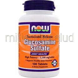 Glucosamine Sulfate - Sustained Release 100 tabs NOW