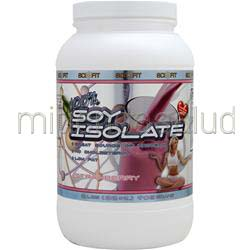 100% Soy Isolate Strawberry 2 lbs SCI-FIT