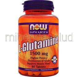 L-Glutamine 1500mg 90 tabs NOW