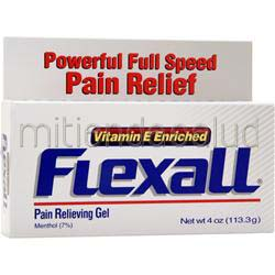 Flexall Pain Relieving Gel 4 oz CHATTEM