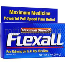 Flexall Pain Relieving Gel - Maximum Strength 3 oz CHATTEM