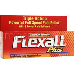 Flexall Plus Pain Relieving Gel - Maximum Strength 4 oz CHATTEM