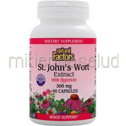 St  John's Wort Extract 300mg 90 caps NATURAL FACTORS