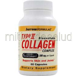 Type II Collagen - Bioavailable Complex 60 caps JARROW