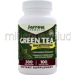 Green Tea - Decaffeinated 100 caps JARROW