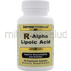 R-Alpha Lipoic Acid with Biotin 60 caps JARROW