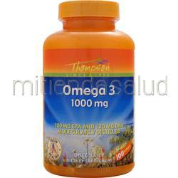 Omega 3 1000mg 100 sgels THOMPSON