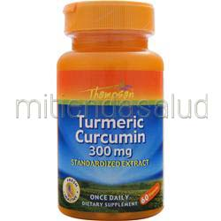 Turmeric Curcumin 300mg 60 caps THOMPSON
