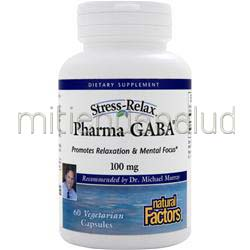 Pharma GABA 60 caps NATURAL FACTORS
