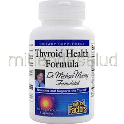 Thyroid Health Formula 60 caps NATURAL FACTORS