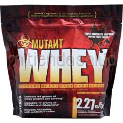 Mutant Whey - Extreme Multi Whey Mega Blend Triple Chocolate Eruption 5 lbs FIT FOODS