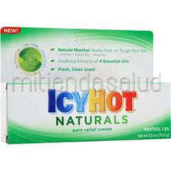 IcyHot Naturals - Pain Relief Cream 2 5 oz CHATTEM