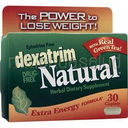 Dexatrim Natural - Extra Energy Formula 30 cplts CHATTEM