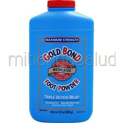 Gold Bond Foot Powder - Maximum Strength 10 oz CHATTEM